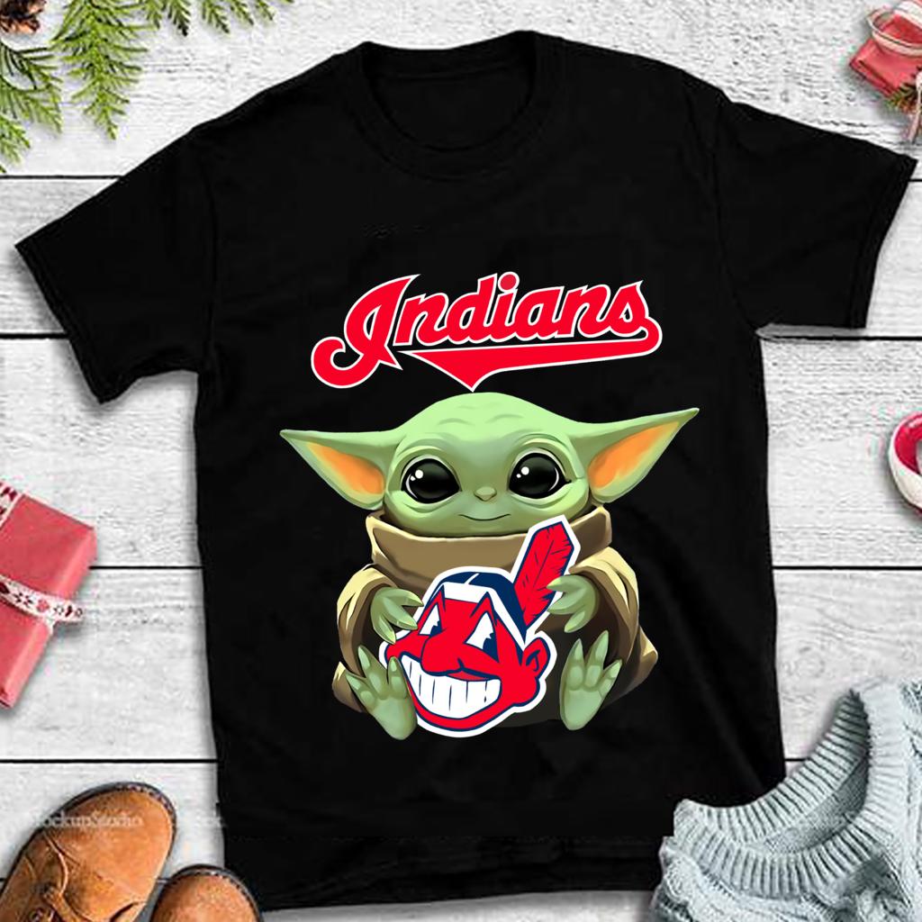Baby Yoda Hug Cleveland Indians Png Design Star Wars Shirt Cleveland Indians Shirt Baby Yoda Png Baseball T Shirt Baby Yoda Mlb Logo Yoda Png Star Wars Memes Star Wars Shirts