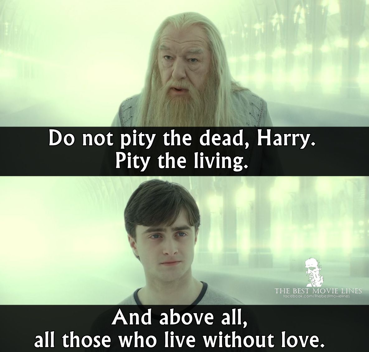 Harry Potter And The Deathly Hallows Part 2 2012 Harry Potter Dialogues Harry Potter Quotes Harry Potter Series