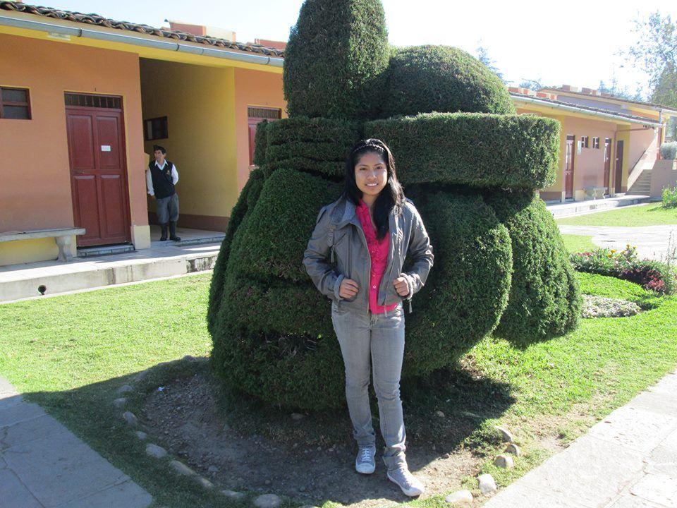 Yo en Cajamarca