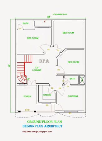 Image Result For 10 Marla House Plans House Map Home Map Design Model House Plan