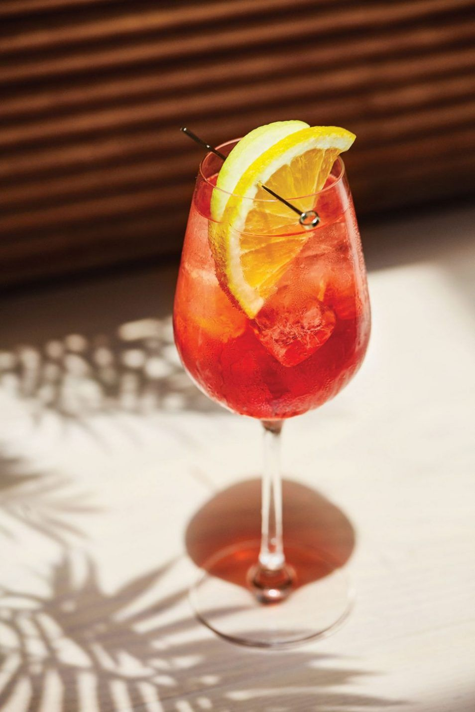 Campari White Wine And Soda Water Spritz Campari Spritz White Wine