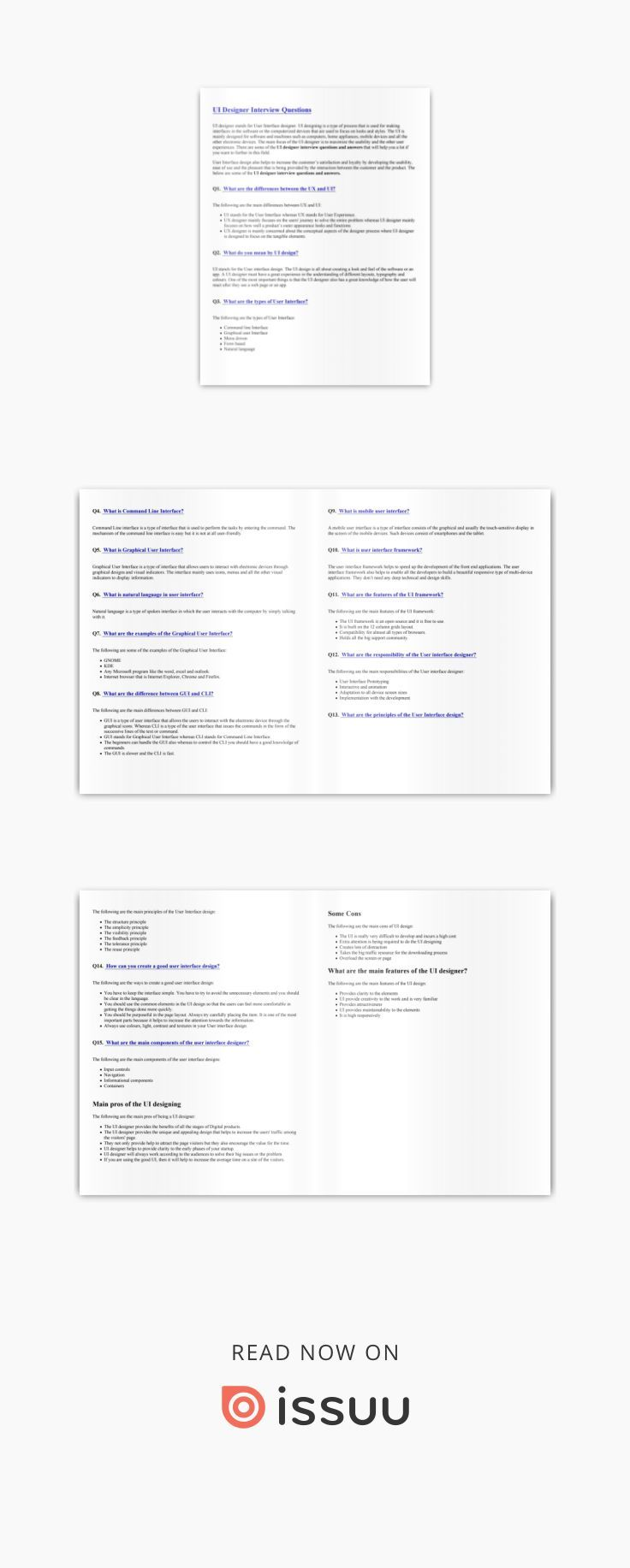 Ui designer interview questions pdf pinterest design and this or that also rh