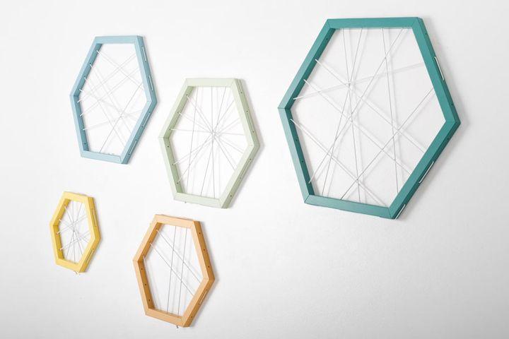 Racchetta storage frame by Ivana Mannavola » Retail Design Blog