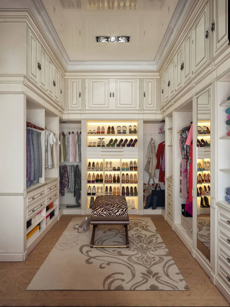 In Every Womanu0027s Dream Bedroom There Is The Enviable Walk In Closet Filled  To The Brim With Shoes, Accessories And Clothes, But Still With Enough  Storage ...