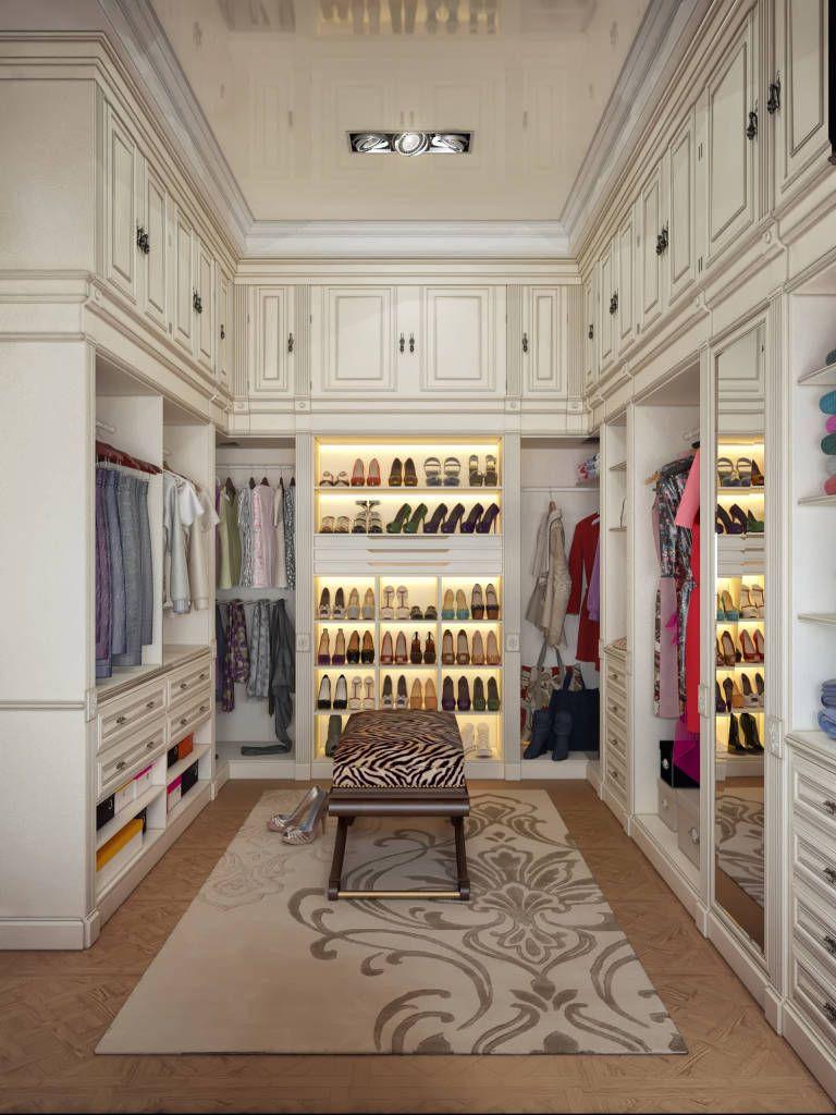 Luxury Closets fotos de closets modernos por sweet home design | dressing room