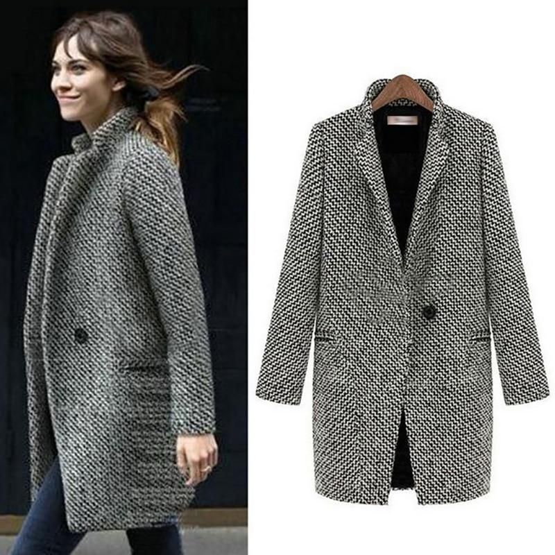 2bf31fc4f96 ALABIFU Autumn Winter Suit Blazer Women 2018 Formal Woolen Jackets Wor –  sara lane