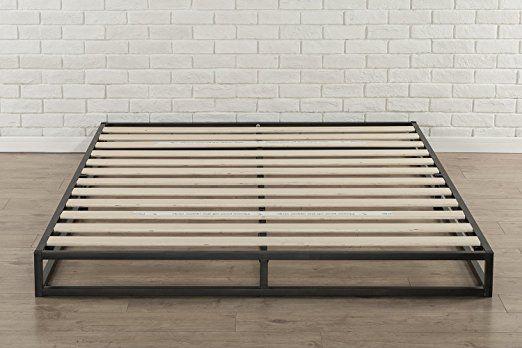 Amazon Com Zinus Modern Studio 6 Inch Platforma Low Profile Bed