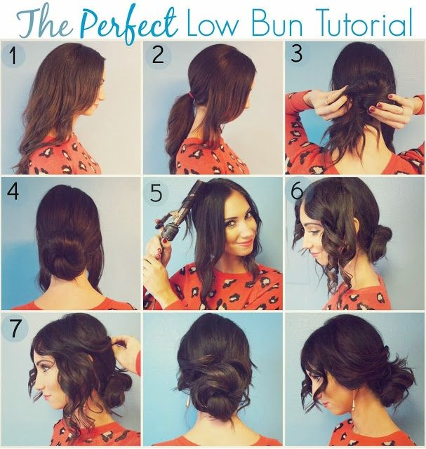 Romantic Low Bun Hairstyle Tutorial Alldaychic Hair Styles Long Hair Styles Hair Bun Tutorial