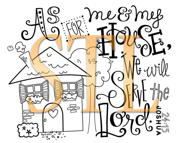 "sincererlyterilea on Etsy!!   Joshua 24:15 ""As for me and my house, we will serve the Lord."""
