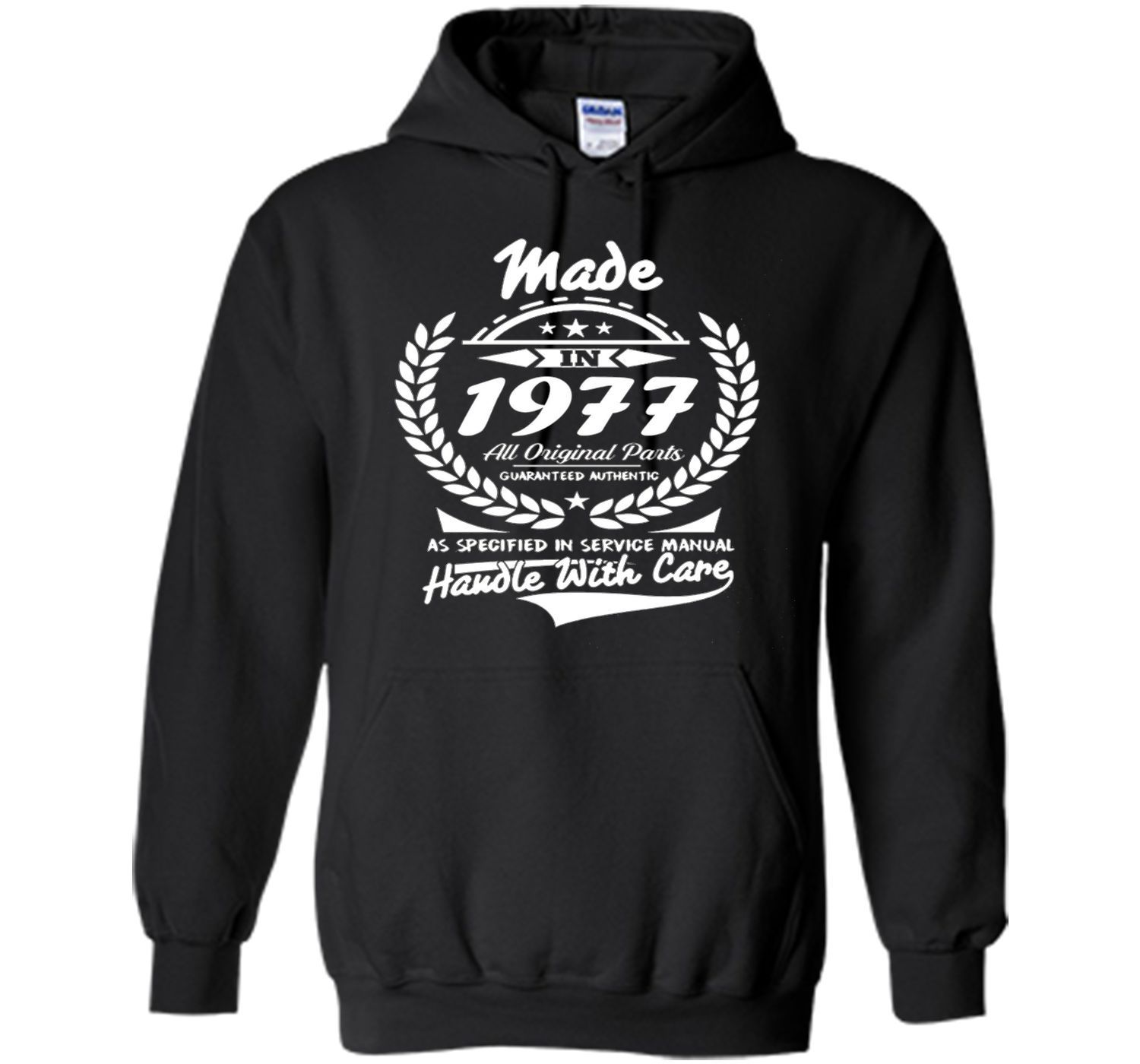 Made in 1977 tshirt 40th Birthday gift Tshirt