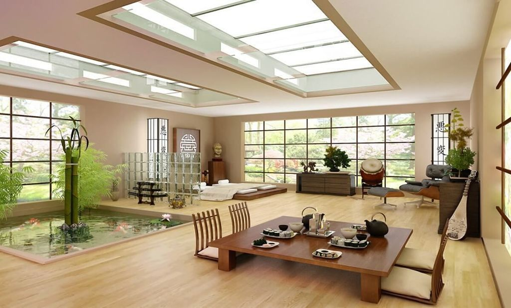 35 Lovely Japanese Living Room Decor Ideas With Images Japanese Interior Design Japanese Living Rooms Living Room Japanese Style