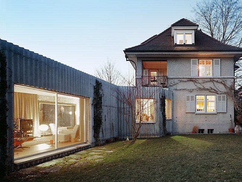 christ + gantenbein . House extension and renovation
