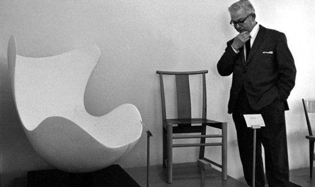 Photos Of Designers Sculpting Prototypes Famous Furniture Designers Danish Design Scandinavian Design