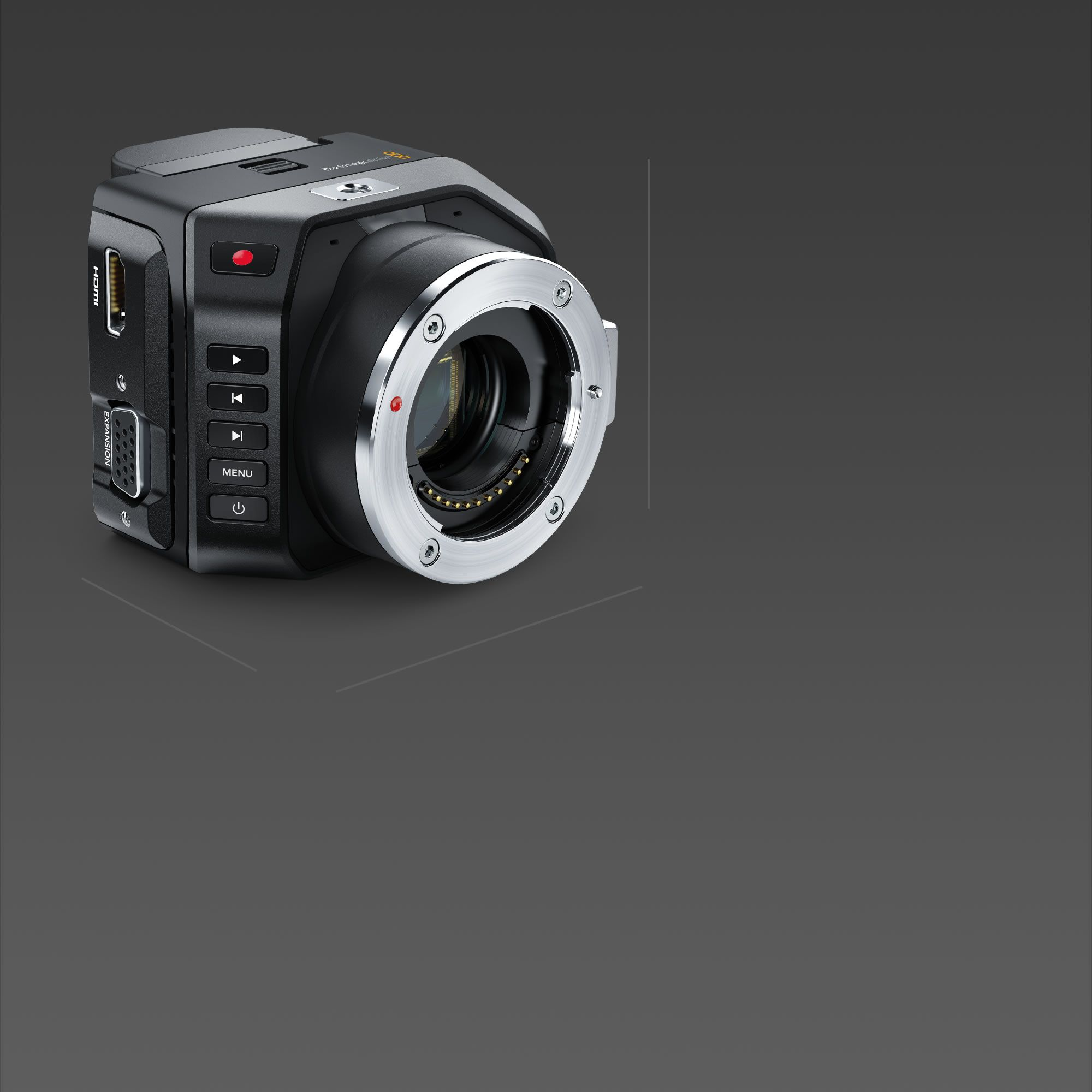 Blackmagic Design Blackmagic Micro Cinema Camera  3D
