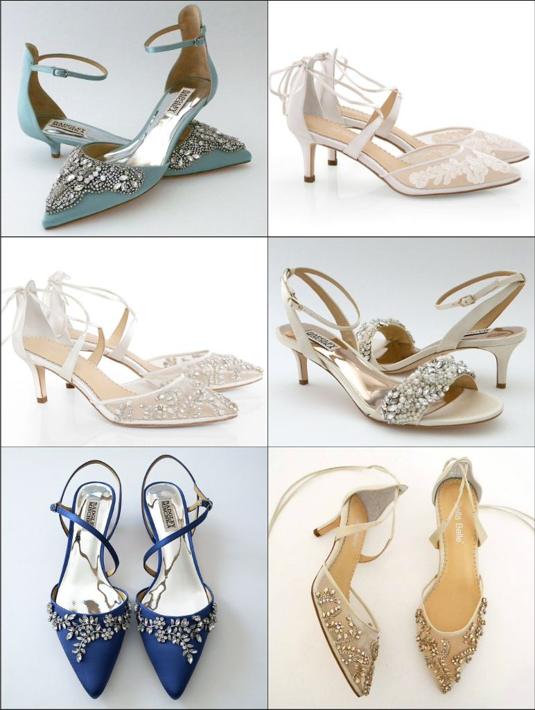 Kitten heels? Yes, please. Discover fabulous bridal flats