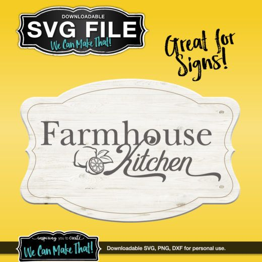 Download Farmhouse Kitchen with lemons SVG   Chocolate chip cookies ...