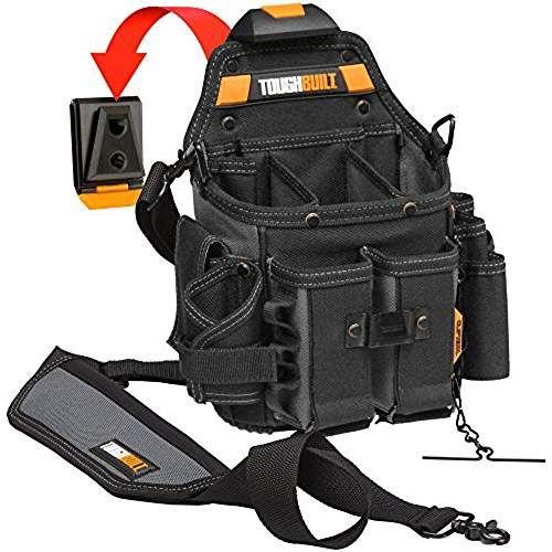 Toughbuilt Tou Ct 114 Journeyman Werkzeugtasche Fur Elektriker Werkzeugtasche Werkzeuggurtel Taschen