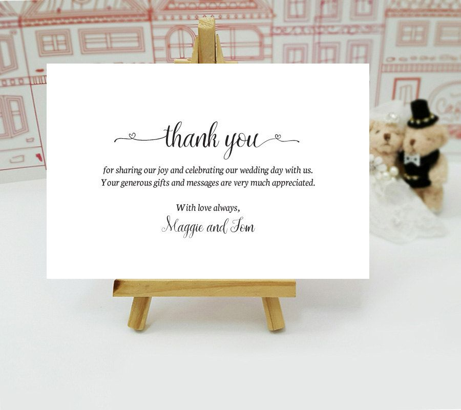 thank you notes printed