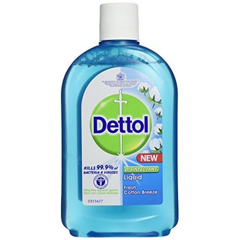 Dettol disinfectant liquid cotton breeze 250ml