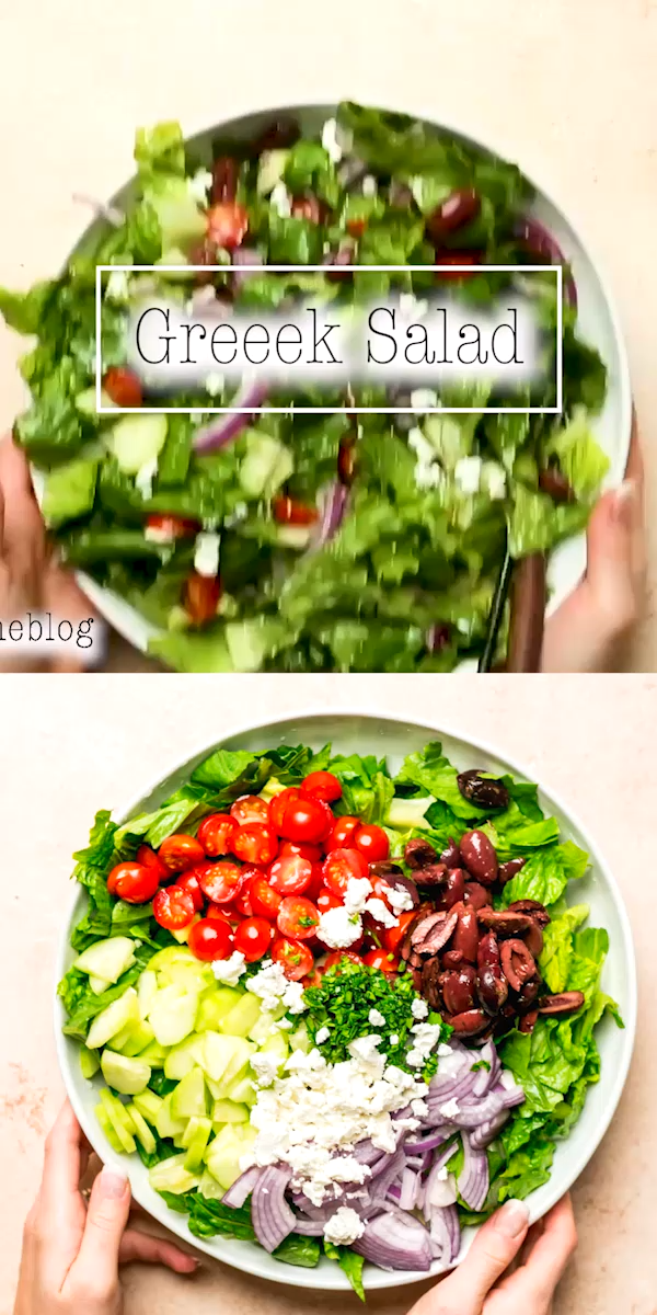Super Easy Greek Salad