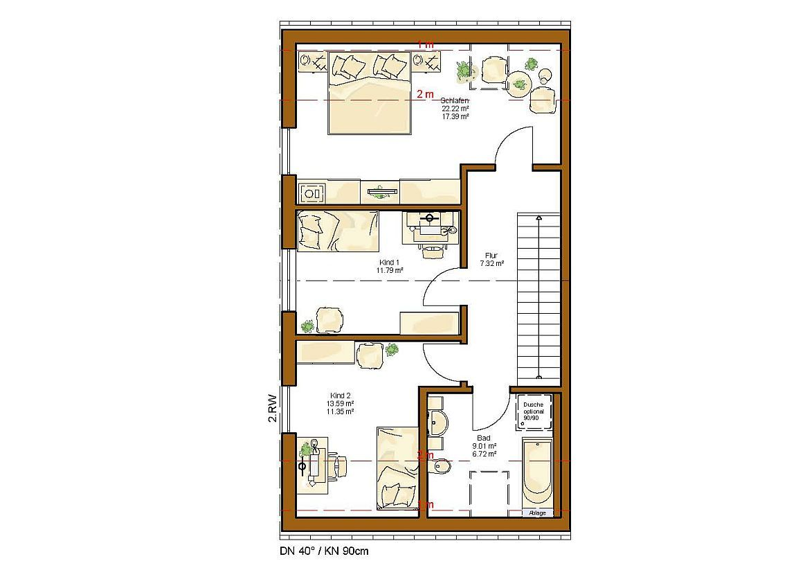 clou 132 grundriss dachgeschoss floor plans pinterest dachgeschosse grundrisse und treppe. Black Bedroom Furniture Sets. Home Design Ideas