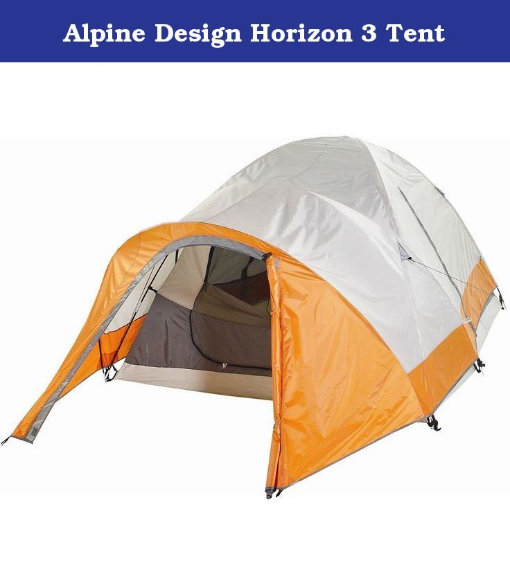 Alpine Design Horizon 3 Tent. Large Front Vestibule For additional storage and shelter. Rainfly  sc 1 st  Pinterest & Alpine Design Horizon 3 Tent. Large Front Vestibule For additional ...