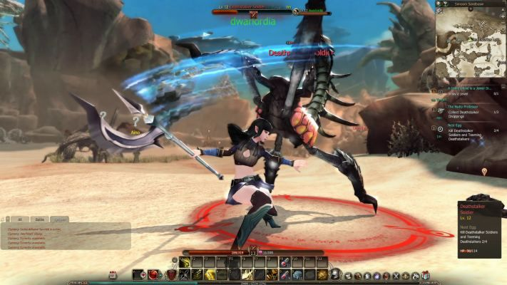 Echo of Soul is a Free to Play Role-Playing MMO Game