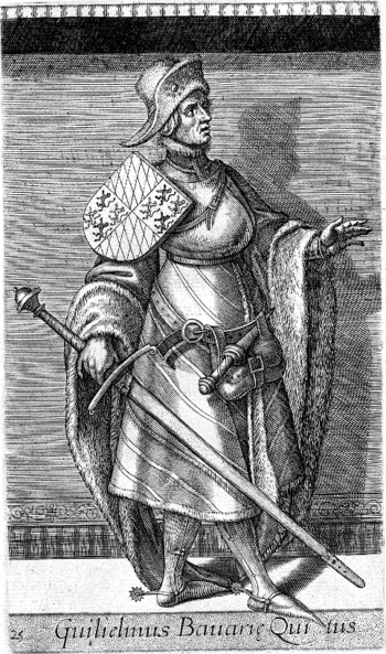 William I, Duke of Bavaria Son of Louis IV, Holy Roman Emperor and Margaret of Hainaut and Holland. Husband to Matilda of Lancaster Spanish Netherlands, Ottonian, Kingdom Of The Netherlands, Archduke, Holy Roman Empire, Roman Emperor, Ferdinand, Bavaria, Middle Ages