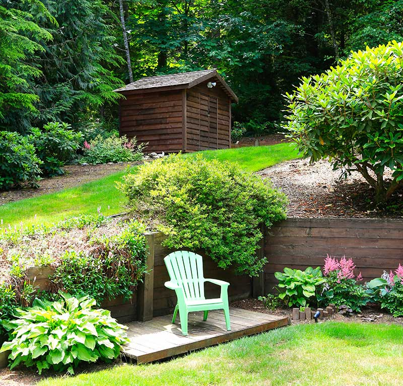 21 Landscaping Ideas for Slopes - Slight, Moderate and ...