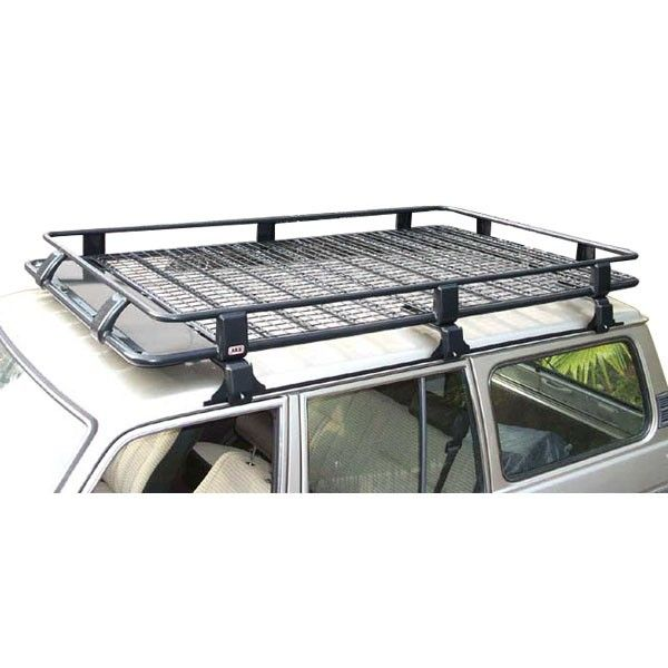 Arb Steel Roof Rack Basket With Mesh Floor 73 X 49 For Jeep Cherokee Xj Car Roof Racks Roof Rack Basket Roof Rack