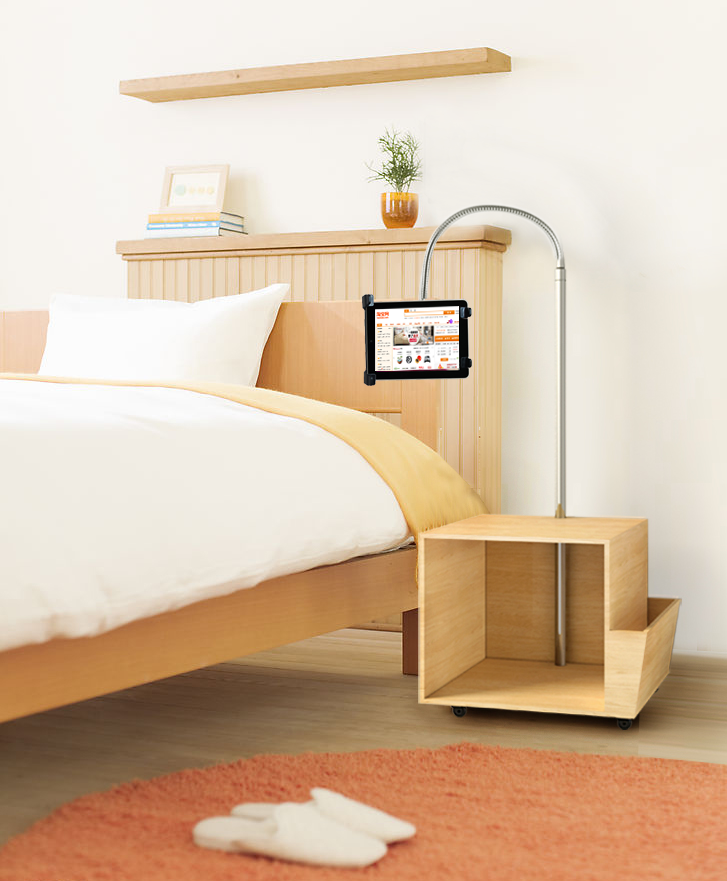 gooseneck tablet stand by