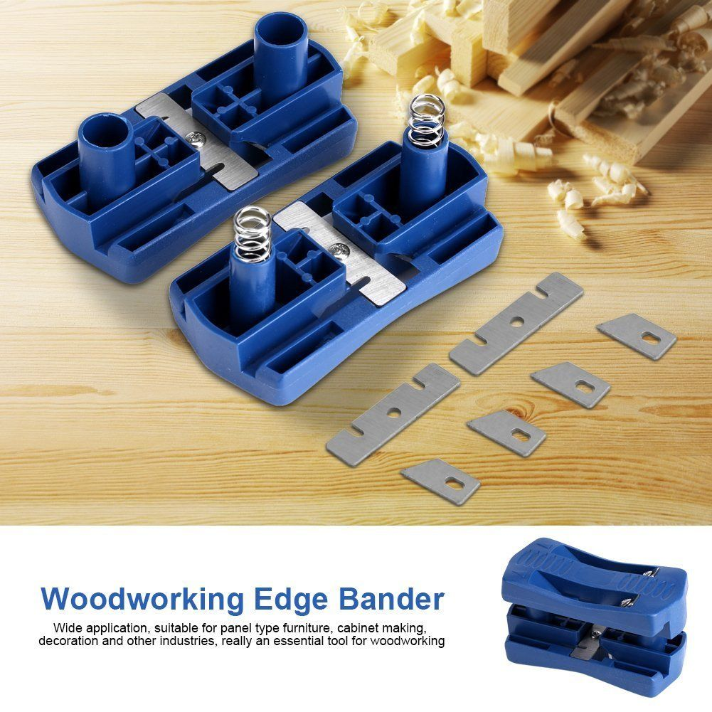 Edge Banding Trimmer Mini Plastic PVC Plywood Melamine Wood