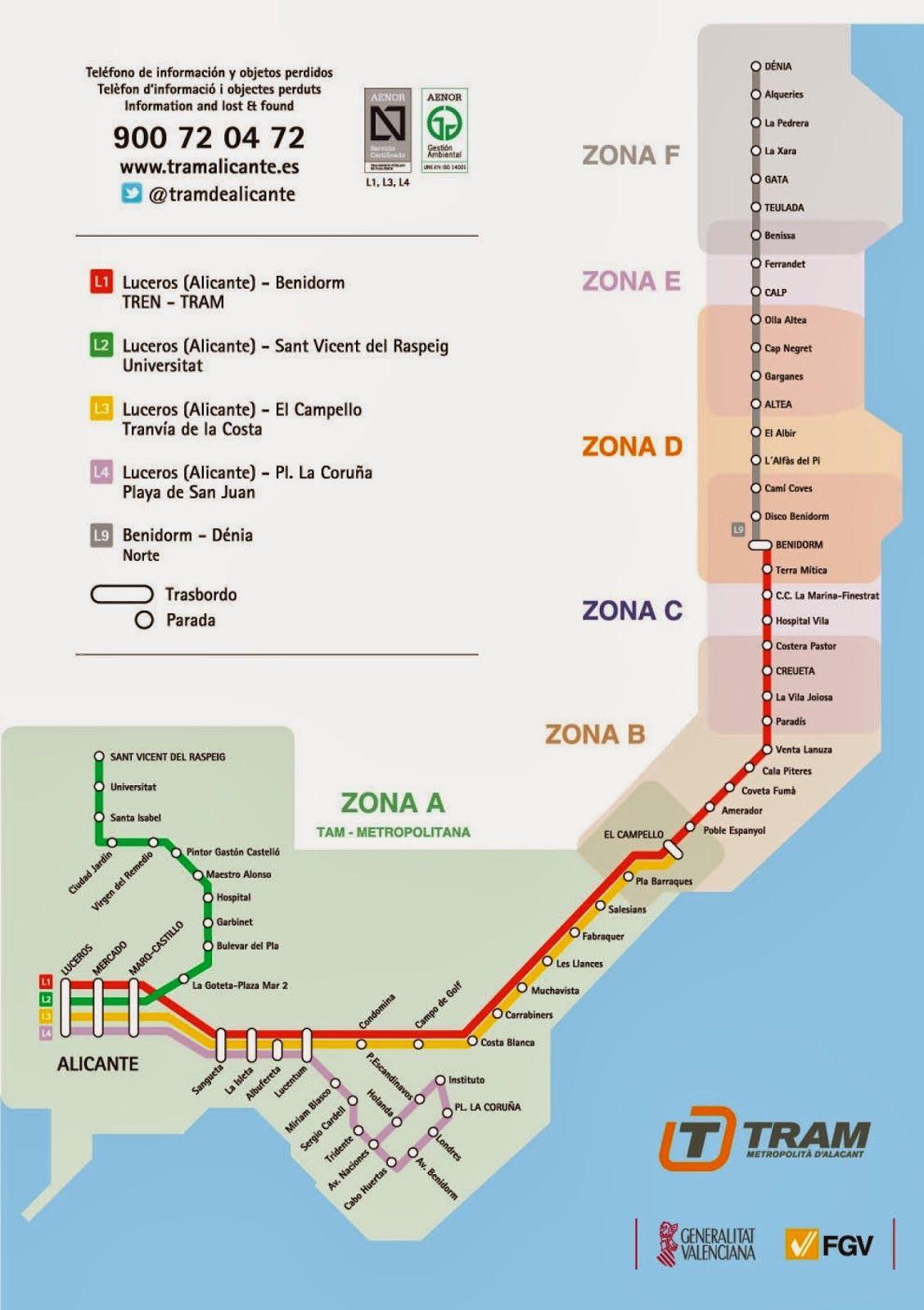 Tram Alicante Alicante Viajes
