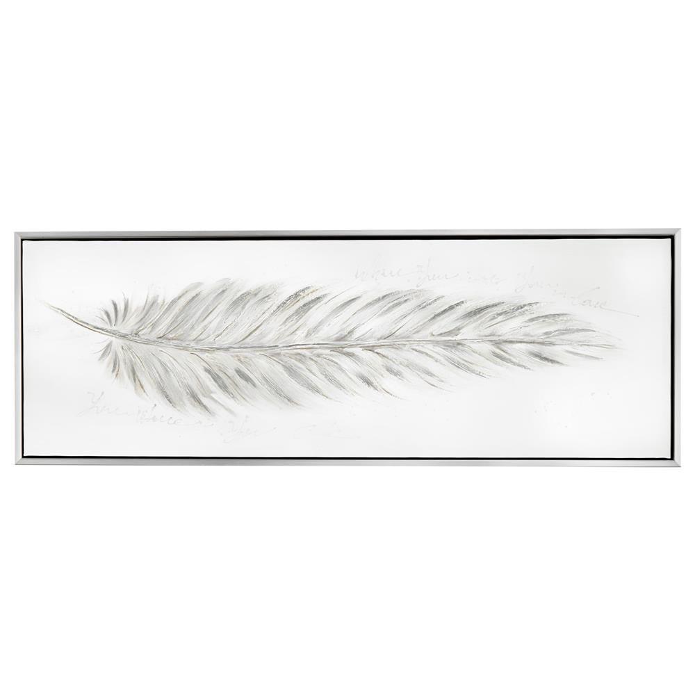 Chevet salle de lecture hall salon salon avec blanc de table de plumes - Cadre Plume Argent E Tableaux Cadres D Cor Mural Bouclair Com