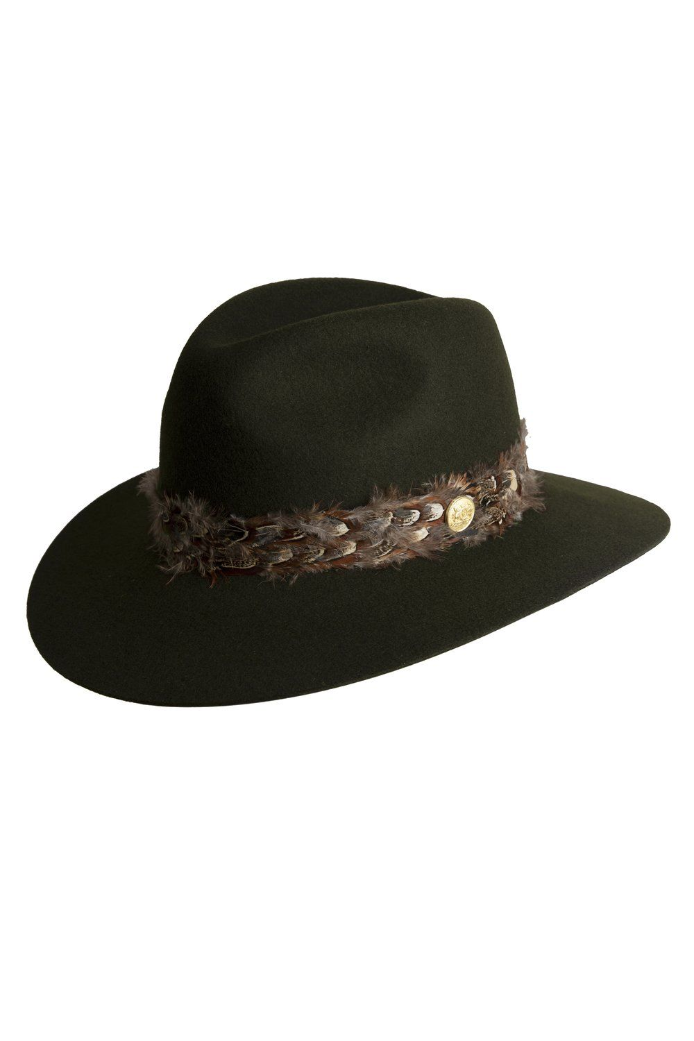 c9a860dfd Trilby Hat With Feather Band (Green) – Holland Cooper | FALL 2018 ...