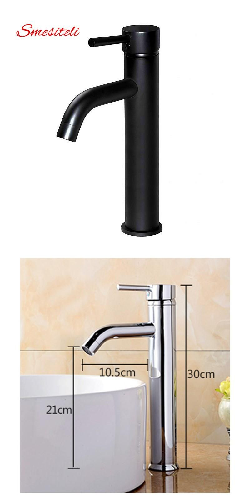 Visit to Buy] Smesiteli Wholesale Classic Bathroom Faucet Matte ...
