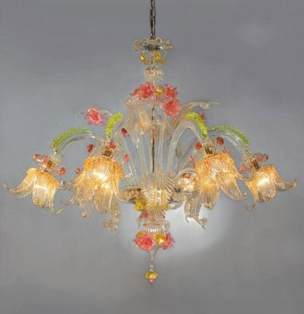Marcellino Muranodirect Venice Murano Glass Chandelier
