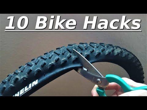 10 Bike Hacks Fur Den Winter Youtube Fahrrad Werkstatt E Bike Selber Bauen Fahrrad Reparieren