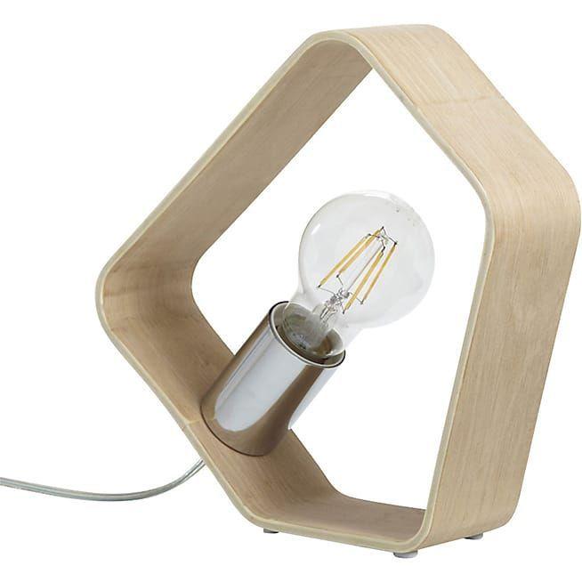 Scandinave Lampe En H22cm À Axel Poser Bois FJ1TlKc3