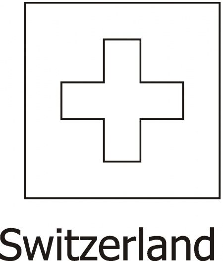 Switzerland Flag printable Swiss