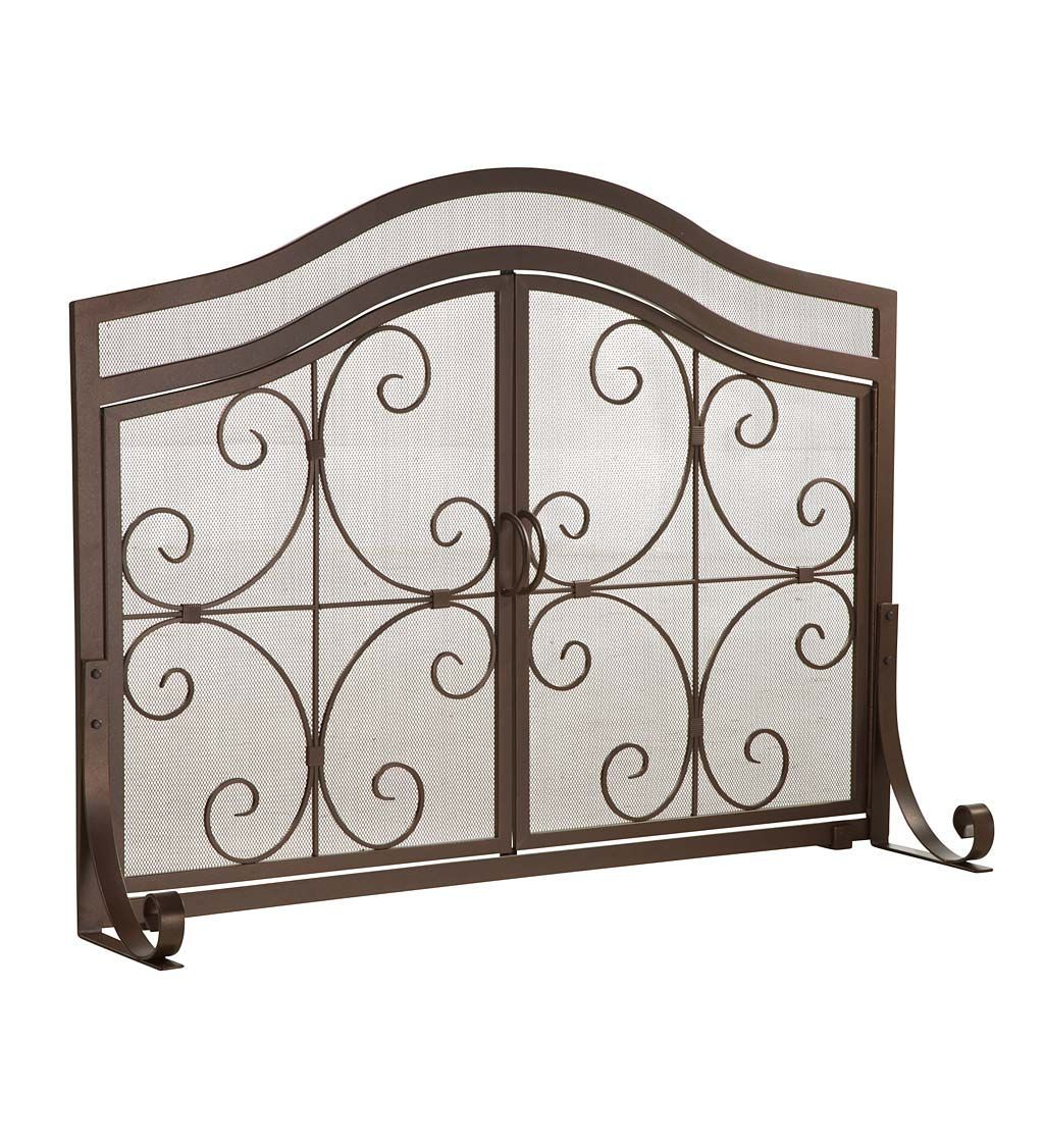 Latest Photos Flat Fireplace Hearth Tips Fireplace Flat Hearth Latest Photos Tip Fireplace Screens With Doors Fireplace Screens Wrought Iron Scrollwork