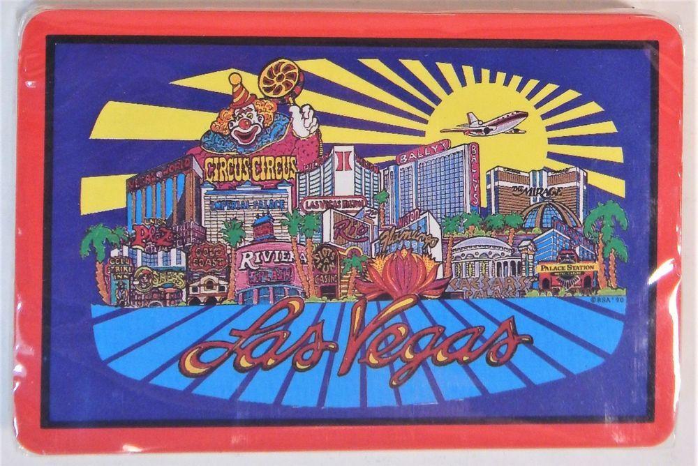Vtg Las Vegas Casino's Playing Cards Riviera Bally's