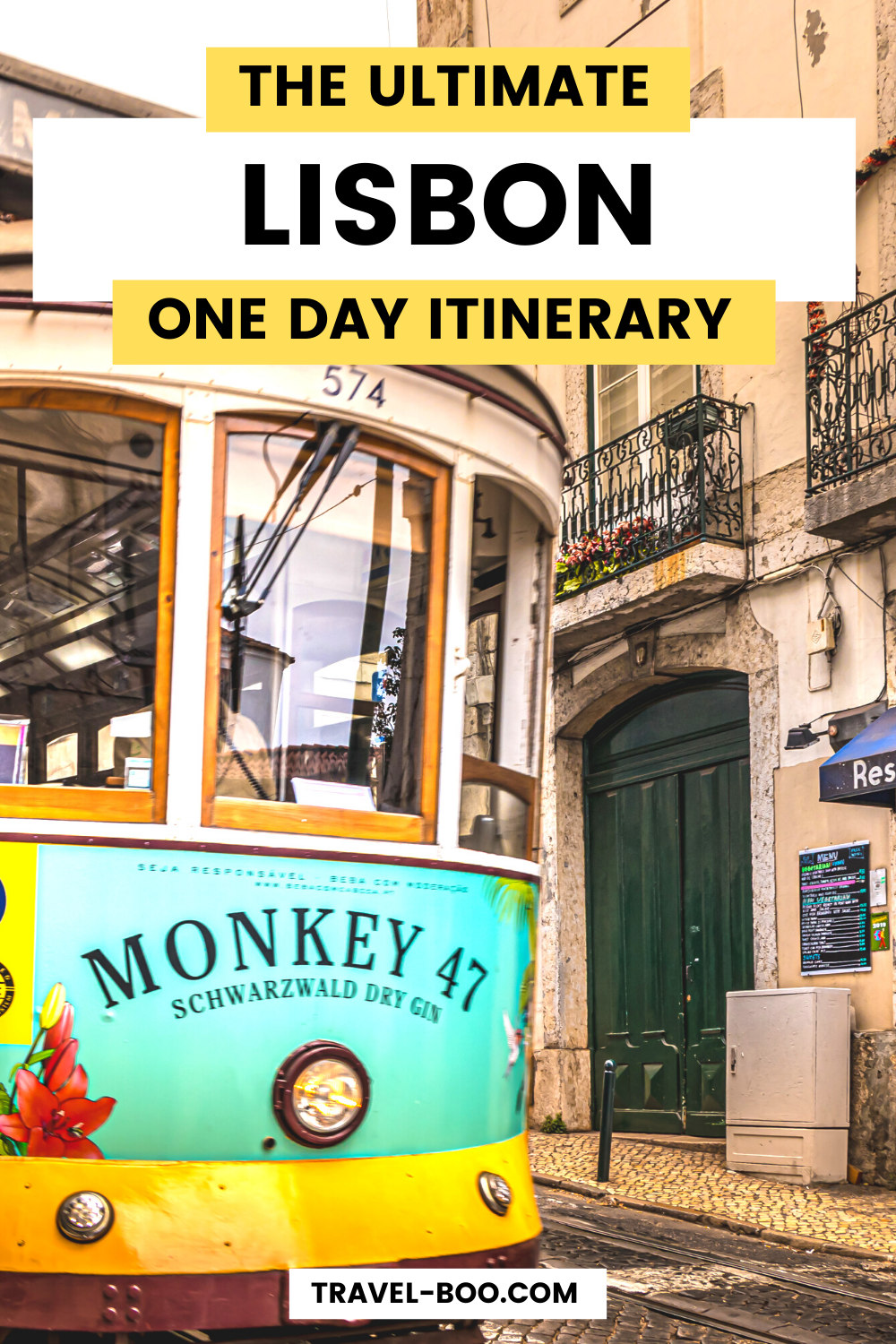 Lisbon One Day Itinerary: How Best To Spend One Day in Lisbon! Travel-Boo