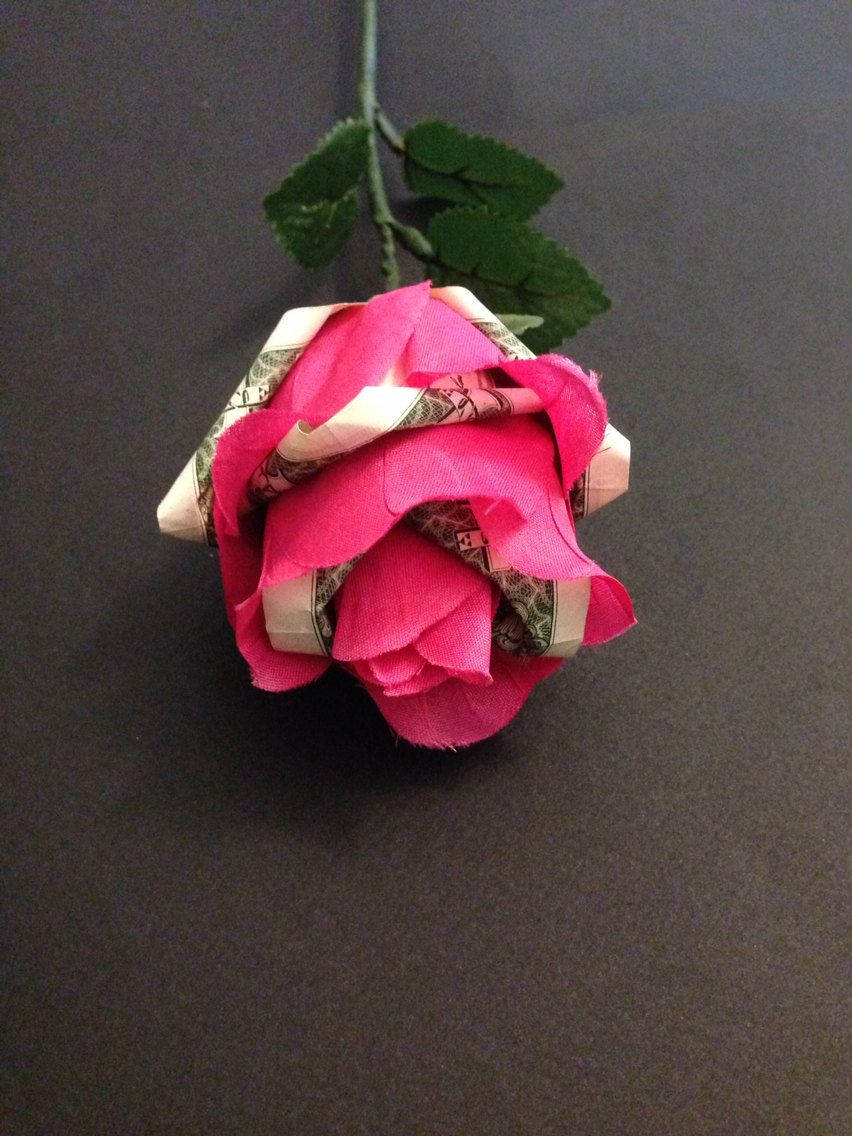 Beautiful Money Origami Art Pieces Many Designs Made Of Real Dollar Bills V 1 Money Origami Origami Rose Origami