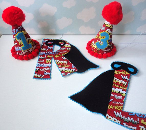 1 Hat and 1 Superhero Iron On DEAL by alphabulous on Etsy, $20.00
