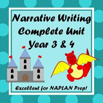Narrative Writing Unit - Year 3 and 4   Narrative writing ...