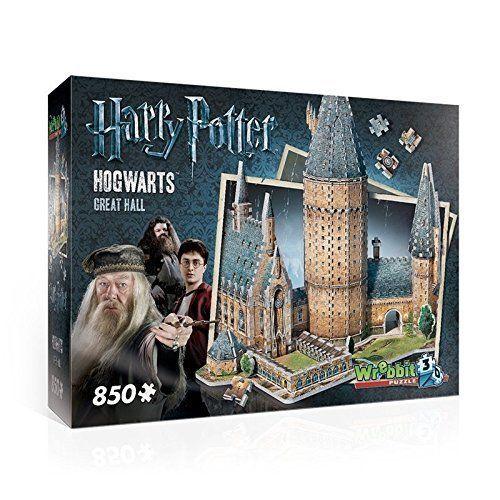 Wrebbit 3D Puzzle Hogwarts Harry Potter 3D Harry Potter Puzzle Building Toys New…