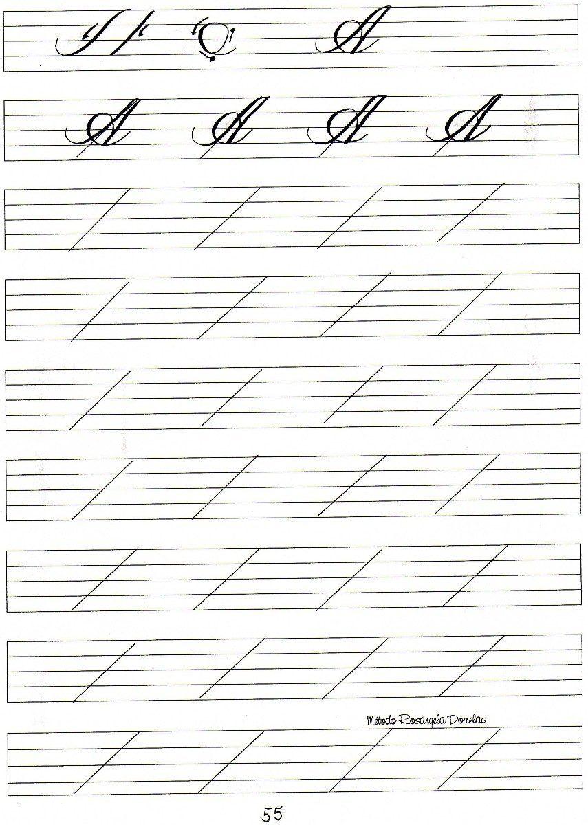 caligrafia artistica exercicios - Pesquisa Google | caligrafia ...