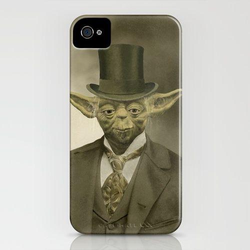 Sir Yoda iPhone Case