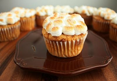Sweet potato cupcake! Is there anything you cant make with sweet potatoes!?